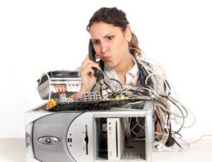 Основные неполадки с компьютером